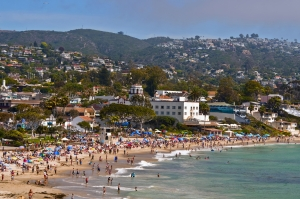 Having some of the most beautiful beaches in Southern California, Laguna Beach is a seaside resort and artists' community known for its hotels, shops, galleries, restaurants, and art festivals. Several movies and TV shows have been filmed in Laguna Beach. © Adeliepenguin | Dreamstime.com - Laguna Beach, California Photo